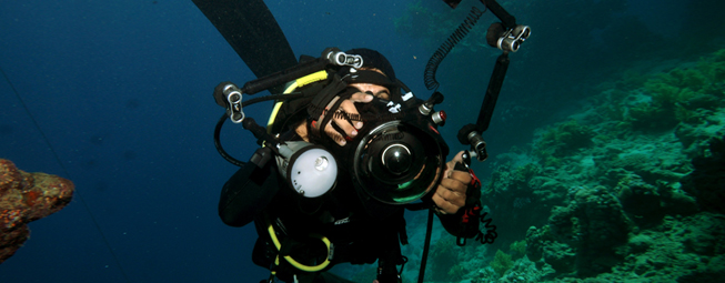 Get photos of your diving