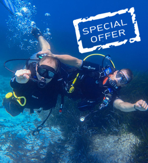 DISCOUNT 20% UPON BOOKING OPEN WATER + ADVANCED OPEN WATER COURSES